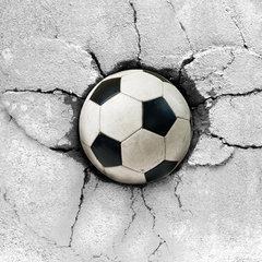 Voetbal behang enzo