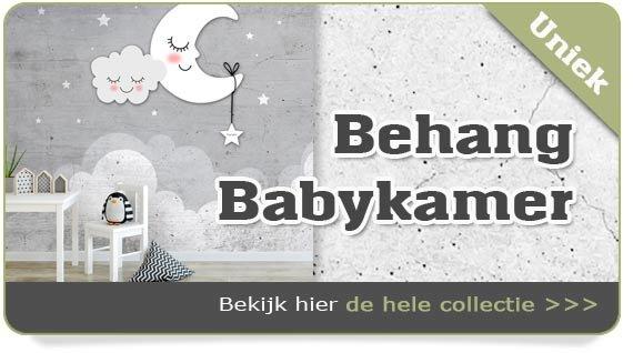 Behang babykamer