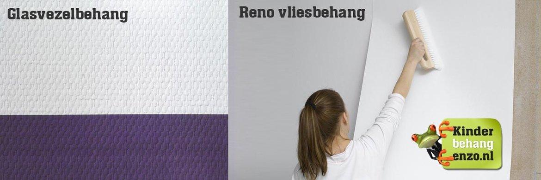 Wat is het verschil tussen glasvezelbehang en vliesbehang?