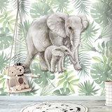 behang jungle kinderkamer