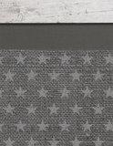 behang sterren grijs detail