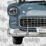 auto behang detail