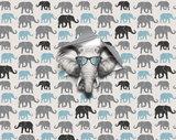 fotobehang kinderkamer olifanten