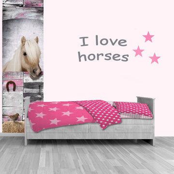 Kinderbehang paneel: paard