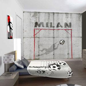 Fotobehang voetbal voetbalkamer