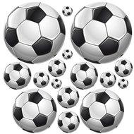 Voetbal stickers voetbalkamer