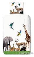 Dekbed overtrek jungledieren